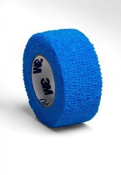 BANDAGE COBAN 25mm x 2m  *BLUE* 3M1581B-1