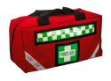 F.A.KIT: CASE SOFT EMERGENCY BAG RED  - Out Of StockUntil October 2020 EB6