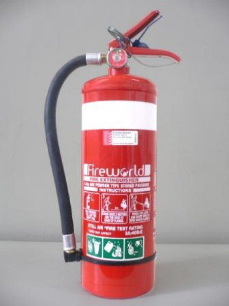Fire World FIRE EXT. DRY CHEMICAL ABE 4.5kg