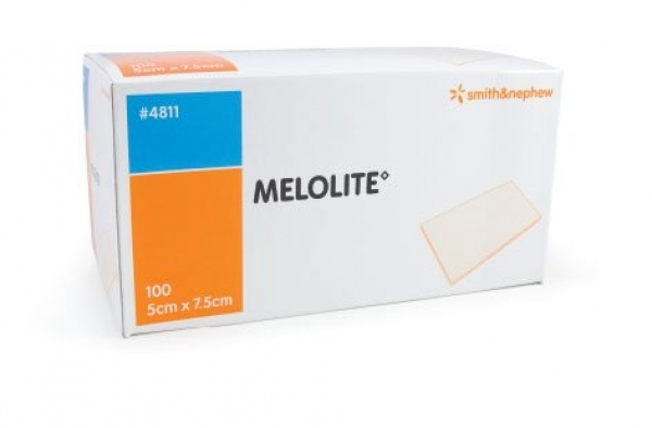Smith & Nephew MELOLITE N.A. DRESSING 5cm x 7.5cm 100