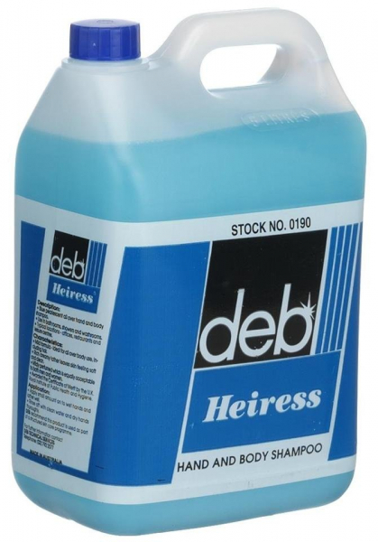SC Johnson Deb DEB HEIRESS HAND & BODY SHAMPOO 5L