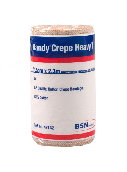 BSN medical BANDAGE CREPE HEAVY HANDY TAN 7.5cm