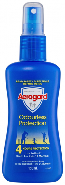 Reckitt Benckiser AEROGARD ODOURLESS PUMP SPRAY 135mL