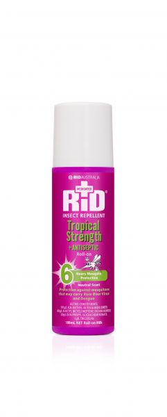 Rid Aust RID TROPICAL ROLL ON 100mL