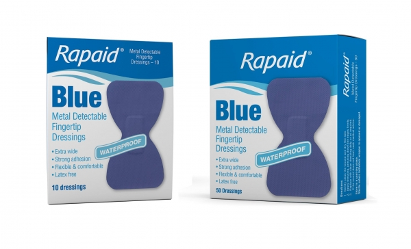 Mundipharma RAPAID BLUE METAL DETECTABLE FINGERTIP STRIP 10