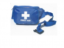 F.A.KIT: CASE SOFT BLUE/BLACK HIP BAG WITH WAIST BELT BB