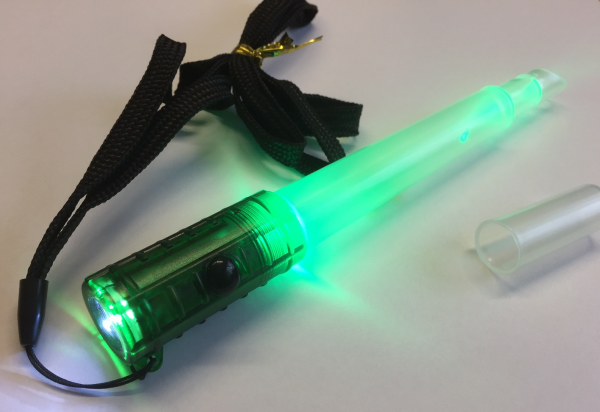 Viritex TORCH + GLOWSTICK GREEN + FLASHING GLOW + WHISTLE