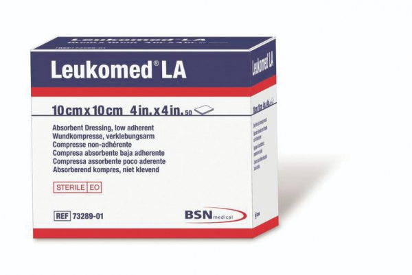 BSN medical LEUKOMED LA DRESSING 10cm x 10cm  *Single