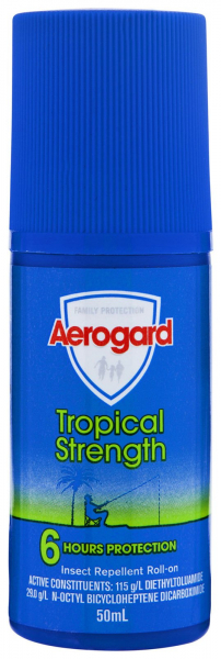Reckitt Benckiser AEROGARD TROPICAL ROLL ON  50mL