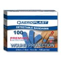 AEROPLAST BLUE DETECTABLE STRIPS 25mm 100 AD1000
