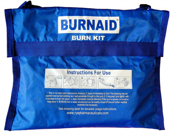 Mundipharma BURNAID KIT REPLACEMENT BLANKET BAG BLUE - CASE ONLY EMPTY