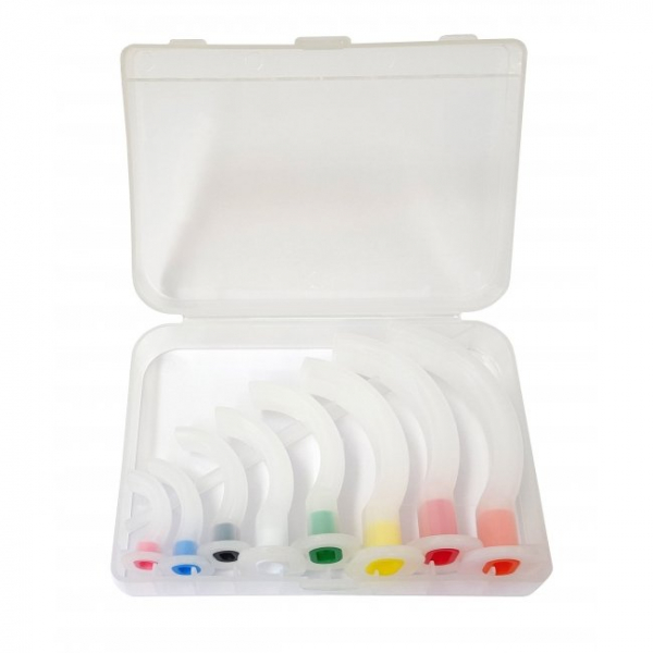 Miscellaneous GUEDEL AIRWAY KIT NON STERILE - 8 AIRWAYS Sizes 000 - 5