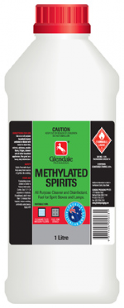 Glendale Chemicals METHYLATED SPIRITS 1L  *DG  UN1170  CLASS 3 PGII
