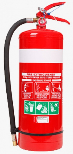 Fire World FIRE EXT. DRY CHEMICAL ABE 9kg
