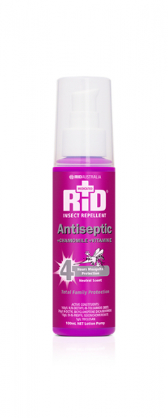Rid Aust RID MEDICATED +ANTISEPTIC +CHAMOMILE +VIT E ROLL ON 50mL