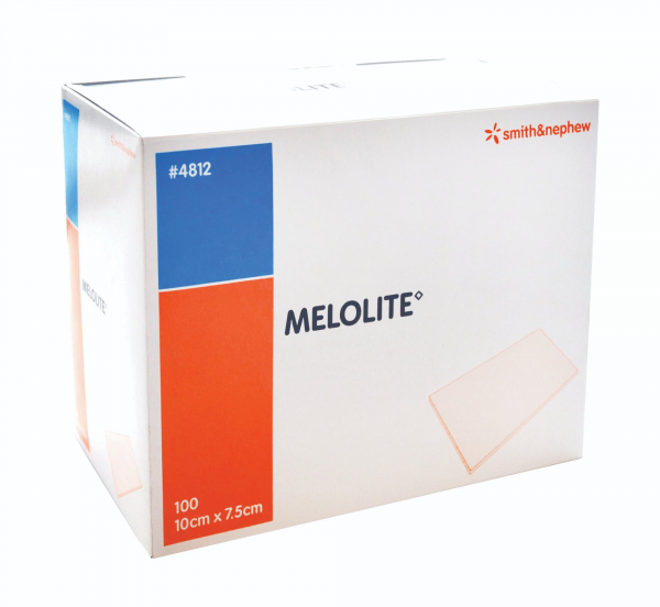 Smith & Nephew MELOLITE N.A. DRESSING 7.5cm x 10cm 100