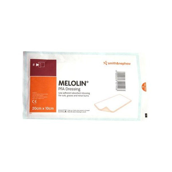 Smith & Nephew MELOLIN N.A. DRESSING 10cm x 20cm  *Single