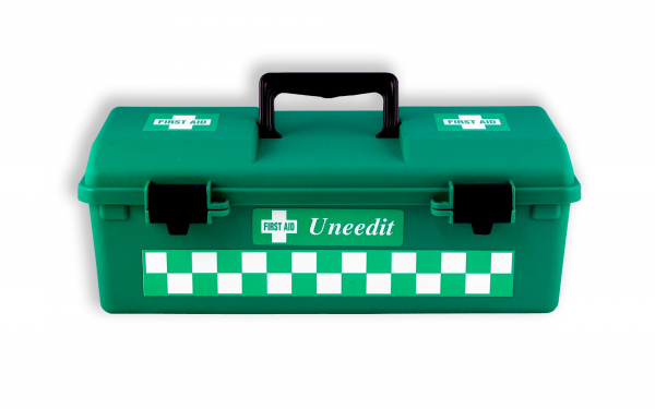 Uneedit F.A.KIT: CASE PLASTIC FISCHER 1 TRAY GREEN