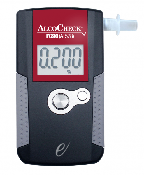 Royal Medical BREATHALYSER ALCOHOL ALCOCHECK FUEL CELL DIGITAL