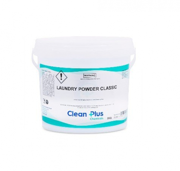 Clean Plus Detergents CLEAN PLUS: LAUNDRY CLASSIC BLUE POWDER 5kg