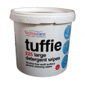 TUFFIE DETERGENT WIPES TUB 225 901DW225