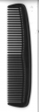 COMB MENS BLACK SOFT 125mm CMB