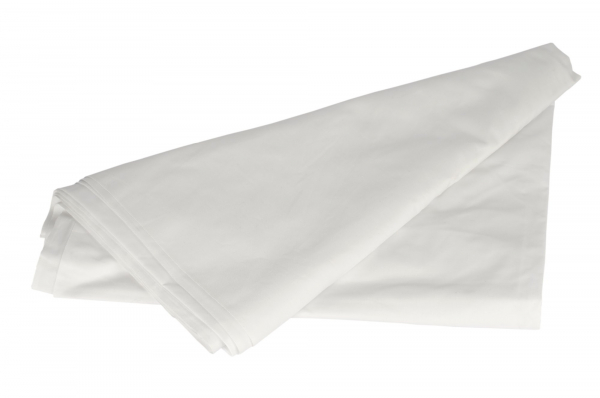 Miscellaneous SHEETS POLY COTTON FLAT 180cm x 270cm  WHITE