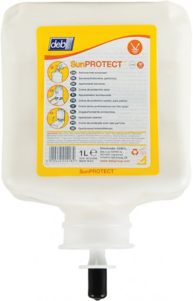 Deb SC Johnson DEB STOKO SUN PROTECT SPF50+ REFILL CARTRIDGE 1L  *Single Cart