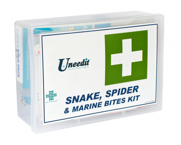 Uneedit F.A.KIT: COMPLETE SNAKE, SPIDER MARINE BITES KIT in HARD CASE