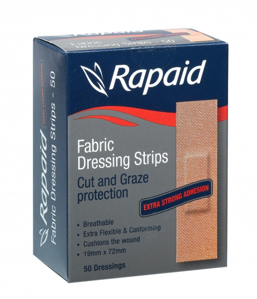 Mundipharma RAPAID FABRIC HEAVY DUTY STRIP 50