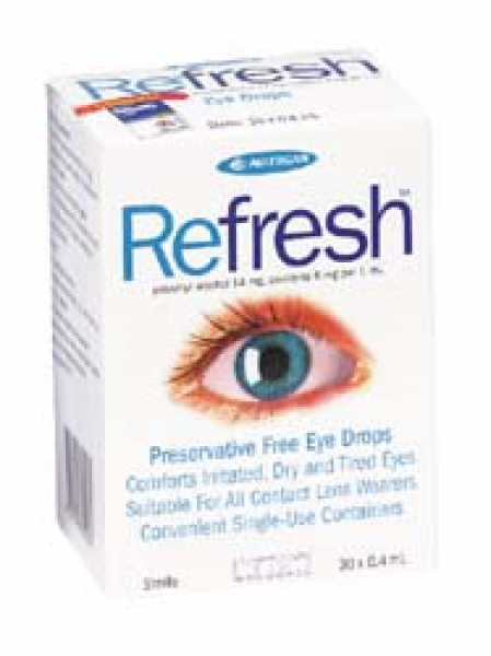 Allergan REFRESH EYE DROPS 0.4mL x 30