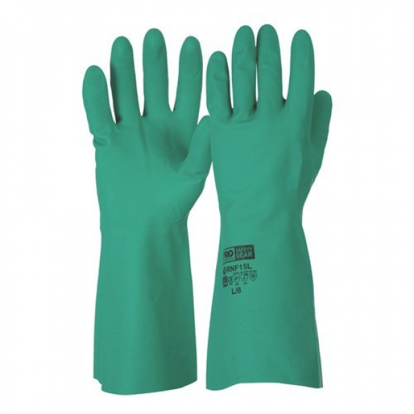 Miscellaneous IND GLOVE: NITRILE CHEMICAL GLOVE 33cm SIZE 10