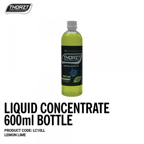 Thorzt THORZT CONCENTRATE LEMON LIME 600ml
