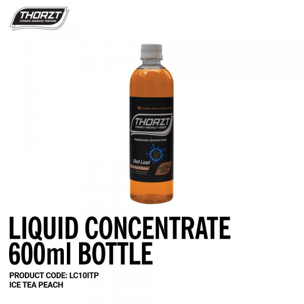 Thorzt THORZT CONCENTRATE ICE PEACH TEA 600ml