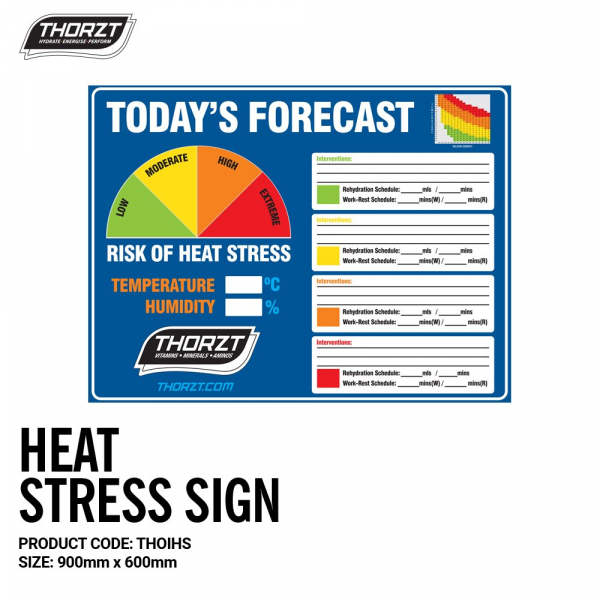 Thorzt THORZT SIGN HEAT STRESS FORECAST