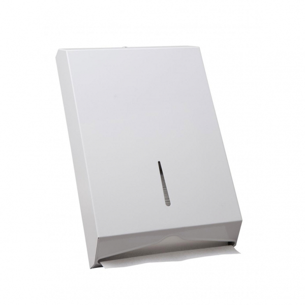 Caprice Paper CAPRICE DISPENSER TOWEL INTERLEAVED WHITE METAL