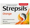 STREPSILS LOZ ORANGE 16 SL-ON16