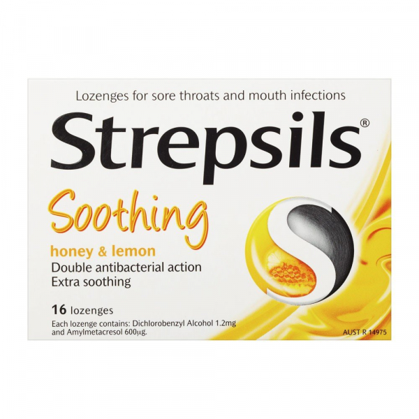 Reckitt Benckiser STREPSILS LOZ HONEY LEMON 16