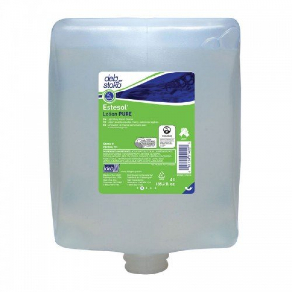 SC Johnson Deb DEB 4000 ESTESOL PURE WASH Cartridge 4L  *Ctn/4