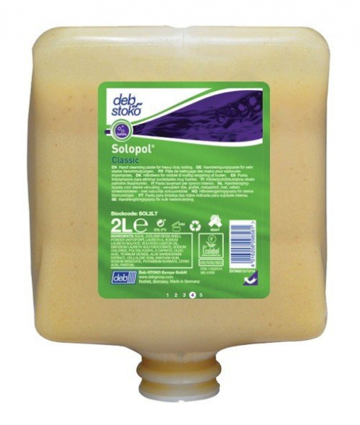 Deb SC Johnson DEB 2000 SOLOPOL CLASSIC PURE Cartridge 2L  *Ctn/4  [2C,2B]