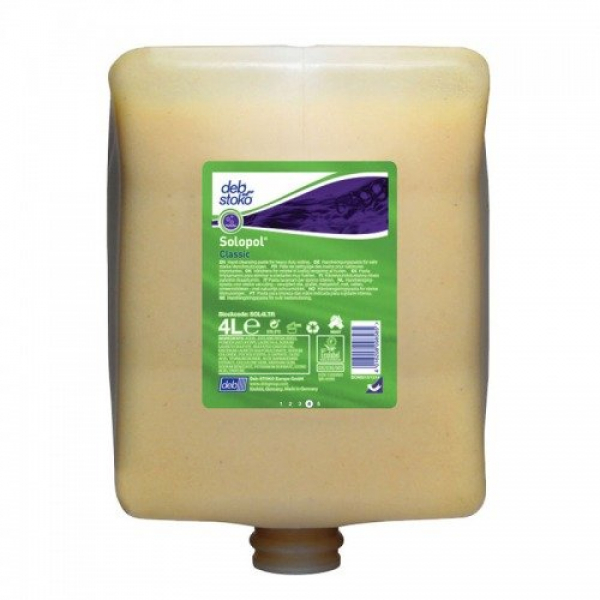 SC Johnson Deb DEB 4000 SOLOPOL CLASSIC Cartridge 4L  *Ctn/4  -  Replace with D-SOL2LTR - Clearance Line