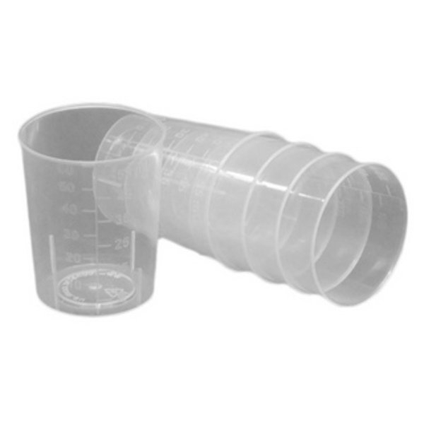 Miscellaneous MEDICINE MEASURE PLASTIC 50mL-60mL
