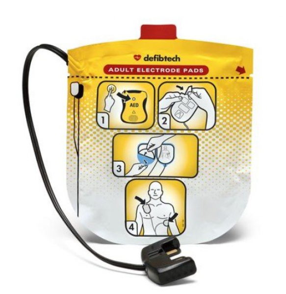 Defibtech DEFIBTECH ADULT DEFIBRILLATION PADS Suit LIFELINE VIEW DDU-2000 SERIES