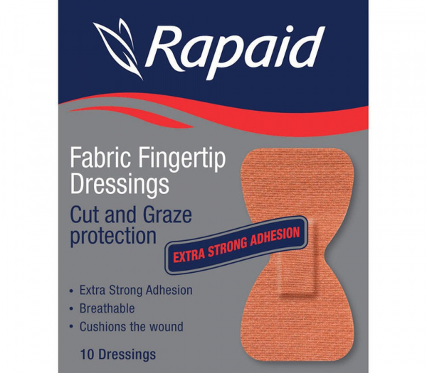 Mundipharma RAPAID FABRIC HEAVY DUTY FINGERTIP 10