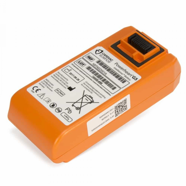 Cardiac Science POWERHEART DEFIBRILLATOR G5 BATTERY INTELLISENSE (Orange)