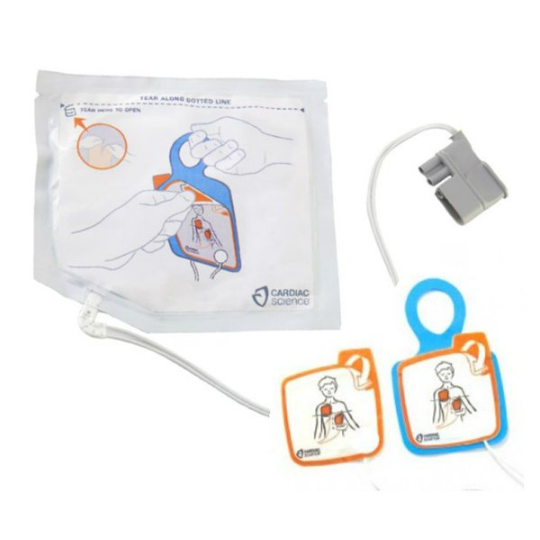 Cardiac Science POWERHEART DEFIBRILLATOR G5 PEDIATRIC PADS