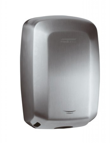 HAND DRYER MACHFLOW S/STEEL SATIN 240v 420-1500w MODEL: M09ACS DIM09ACS