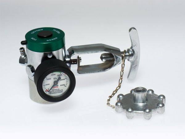 Medical Developments OXYGEN UNIT: MD REGULATOR/FLOWMETER 0,1,2,3,4,6,8 & 15L per Minute