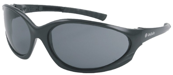 SPECS: UNISAFE PANTERA BLACK FRAME SMOKE LENS  -  Clearance Line SNN218S