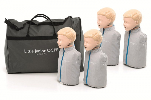Laerdal LAERDAL MANIKIN QCPR LITTLE JUNIOR 4 PACK